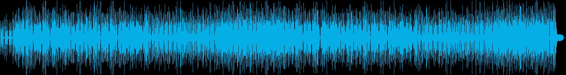 ほのぼの・田舎っぽいチープなボサノバの再生済みの波形