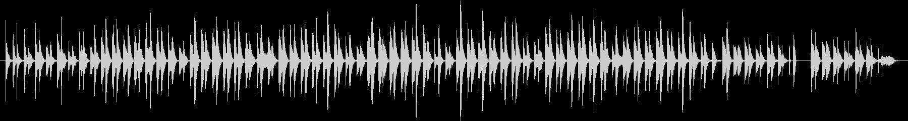 〜ほんわか愛らしい動物映像〜打楽器♪の未再生の波形