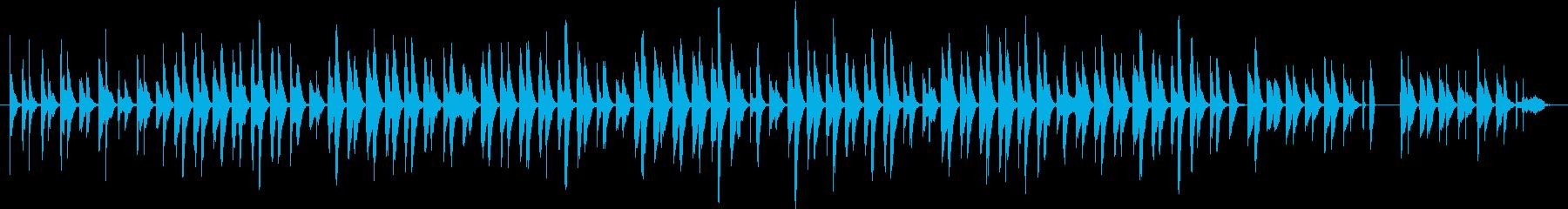 〜ほんわか愛らしい動物映像〜打楽器♪の再生済みの波形