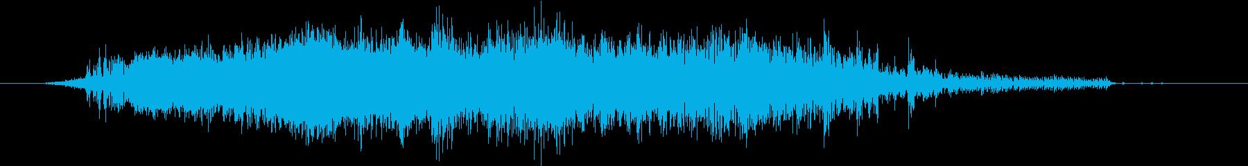 レストランエスプレッソマシン:泡立...の再生済みの波形