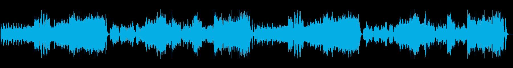 交響曲第40番オーケストラの再生済みの波形