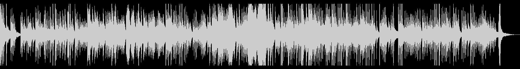 夏の夕暮れ ピアノソロの未再生の波形