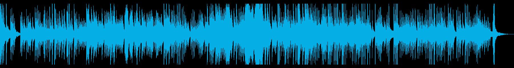 夏の夕暮れ ピアノソロの再生済みの波形