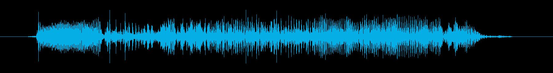 アンティーク蓄音機、1910年頃:...の再生済みの波形