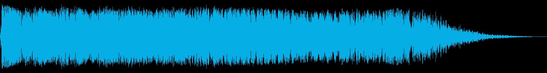 中空エネルギー静的スイープの再生済みの波形