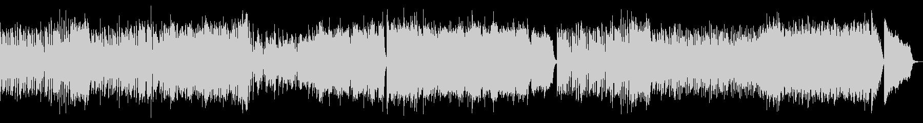 ラグタイム風ピアノBGMの未再生の波形