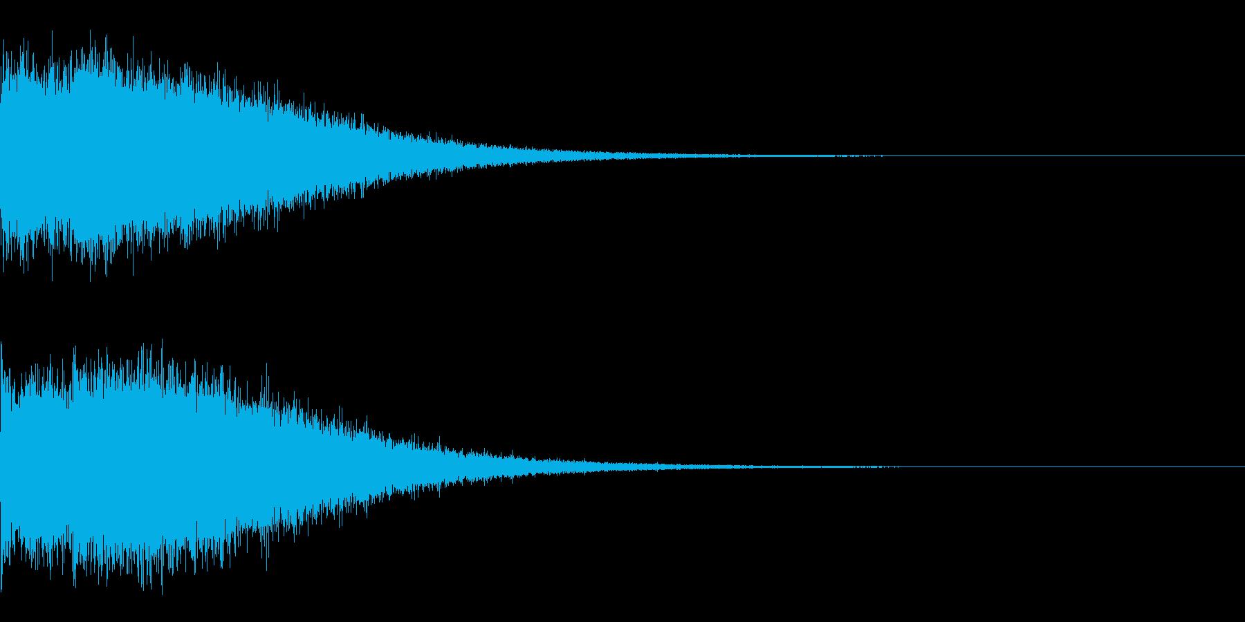 Dark_Sweepdown-17の再生済みの波形