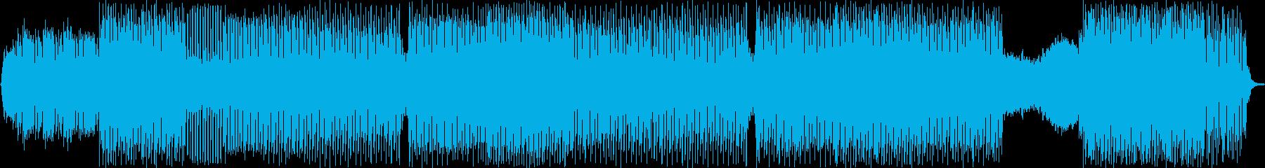 デュオシンセベースのグルーヴ。の再生済みの波形