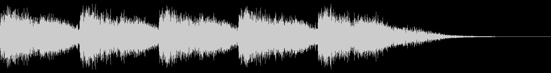 アラート音の未再生の波形