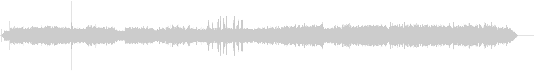 リノタイプワークショップの未再生の波形