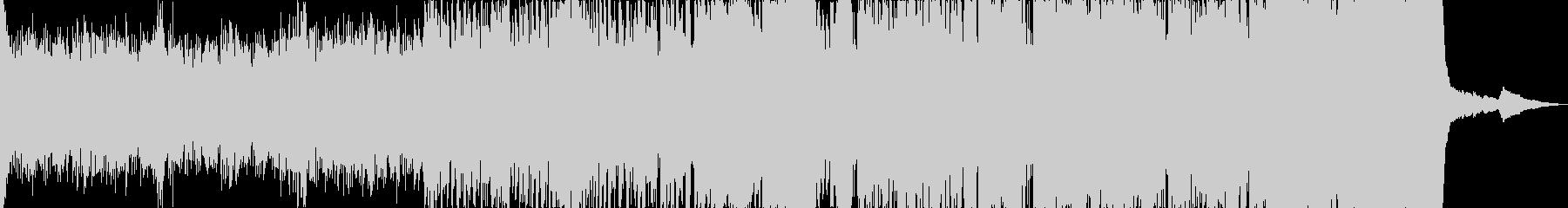 ジングルベルのオーケストラアレンジ版ですの未再生の波形