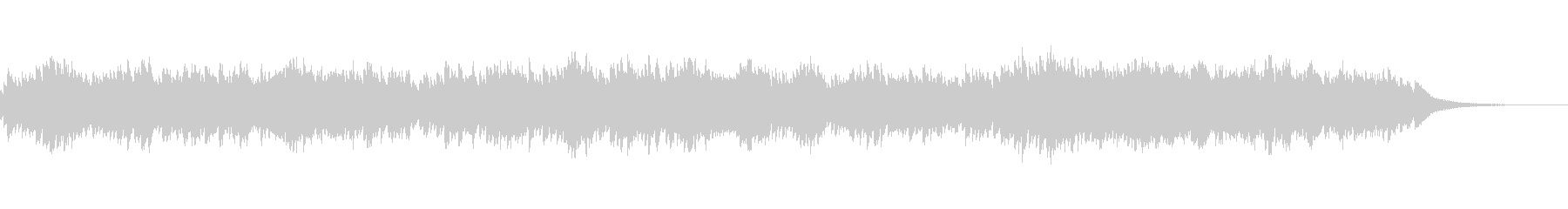 2声のインヴェンション13番 オルゴールの未再生の波形