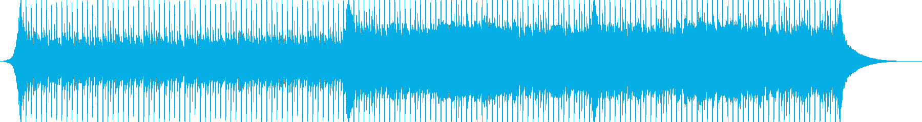 企業VP系32、爽やかギター4つ打ち10の再生済みの波形