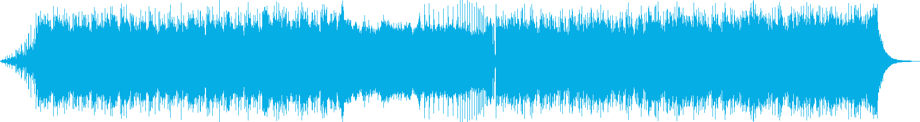 幻想的なドラムンベース・アートコアの再生済みの波形