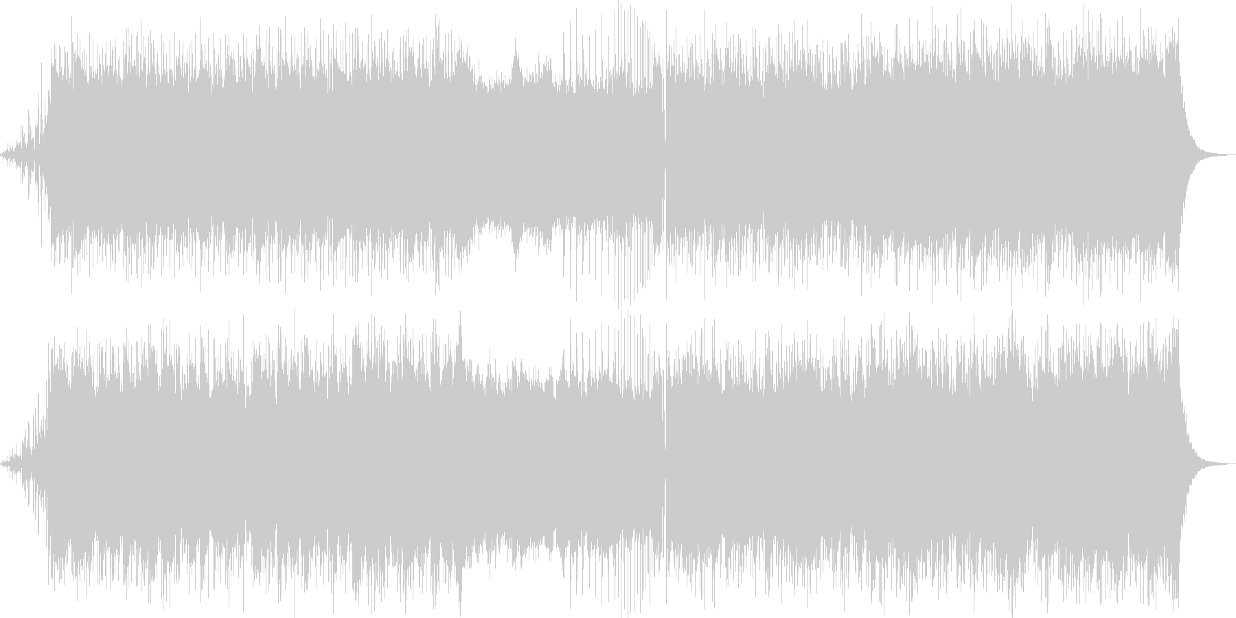 幻想的なドラムンベース・アートコアの未再生の波形