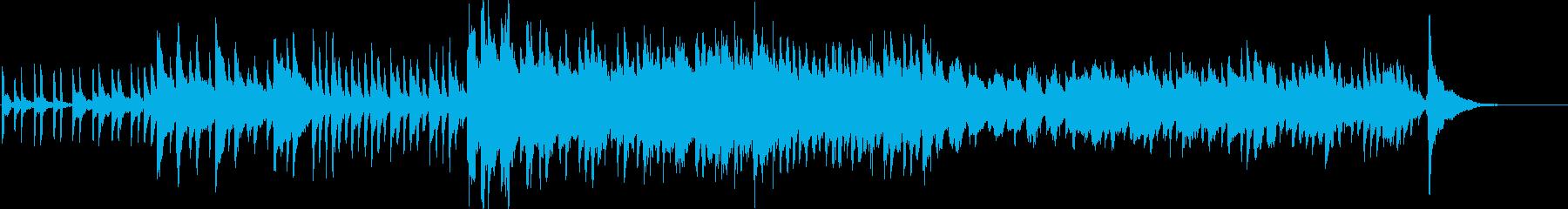 不思議な、ミステリー感のある3拍子の曲の再生済みの波形