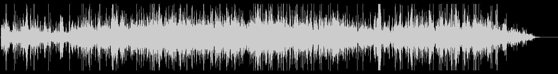 ホラー向けノイジーなうめき声の未再生の波形
