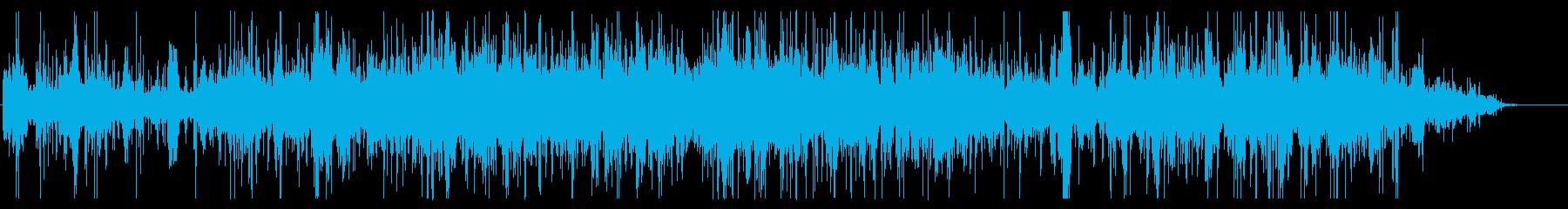ホラー向けノイジーなうめき声の再生済みの波形