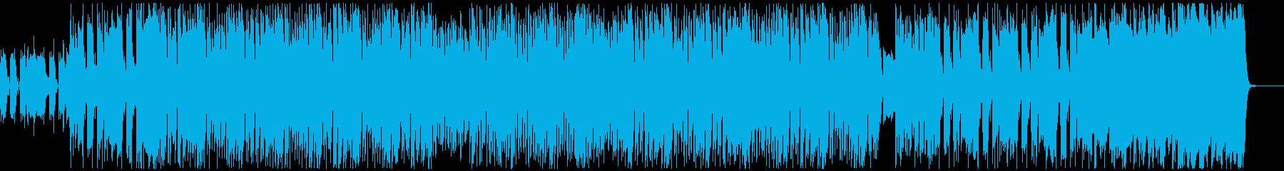 陽気でハイテンションなスカロックの再生済みの波形
