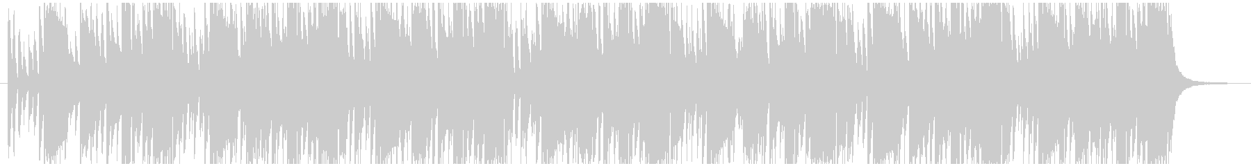 ピアノ主体のチルアウト、クール、R&Bの未再生の波形