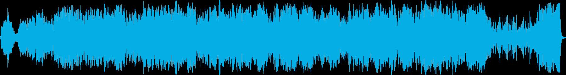 ブルース。トリオが演奏。の再生済みの波形