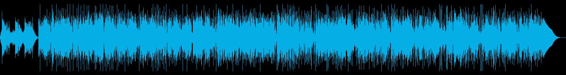 SAXとフルートとが心地よいレゲエの再生済みの波形