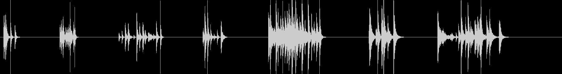 ドラムコンボ-7エフェクト;さまざ...の未再生の波形