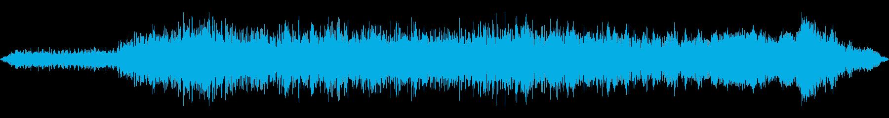 大規模なスペースバトルクルーザー:...の再生済みの波形