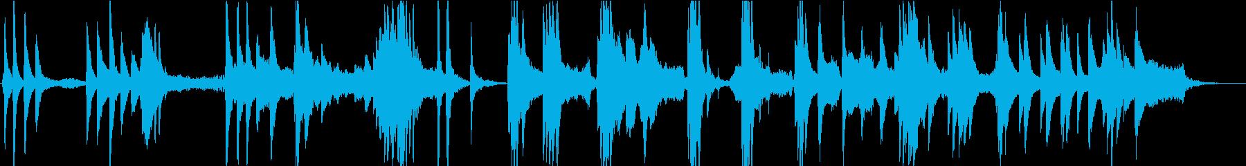 森の泉を感じるピアノ・アンビエントの再生済みの波形