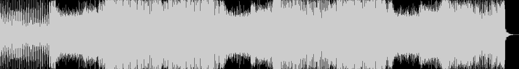 トランシーなEDMの未再生の波形