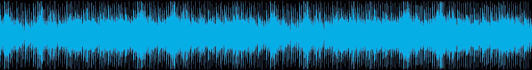 ループ、夜、大人、アーバン、チルアウトの再生済みの波形
