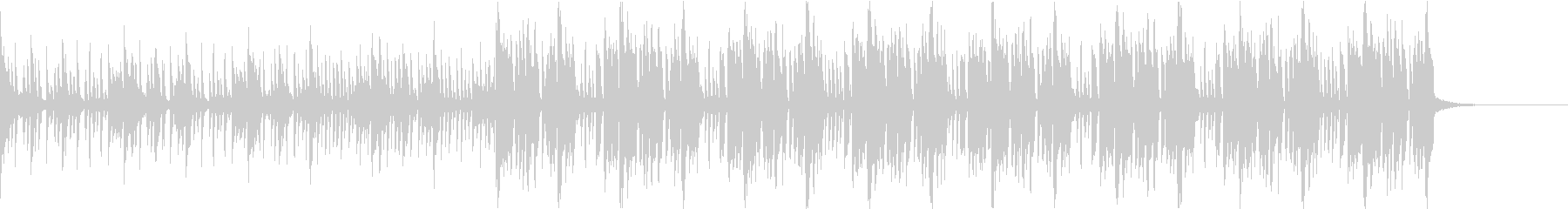 Pf「謀」和風現代ジャズの未再生の波形