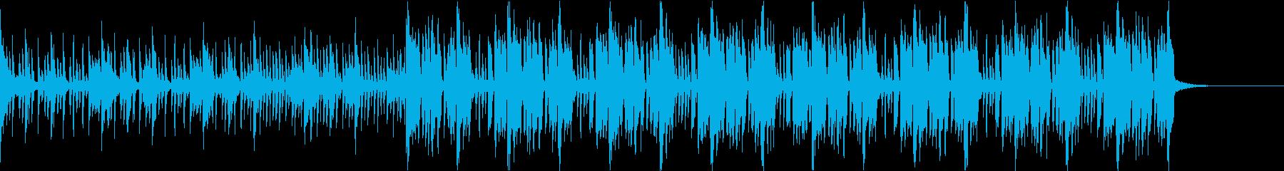 Pf「謀」和風現代ジャズの再生済みの波形