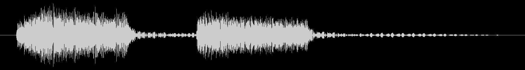 ブブッ/不正解/クイズの未再生の波形