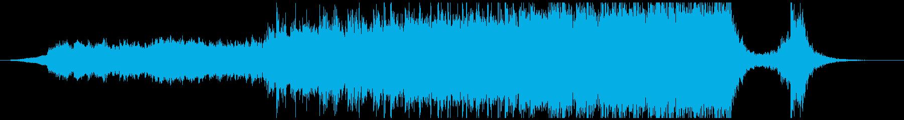 現代的 交響曲 エレクトロ 広い ...の再生済みの波形