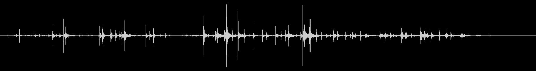 パネルタイプ2ストレスの未再生の波形