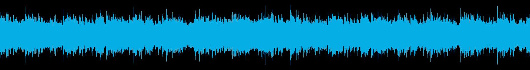 壮大な雰囲気の楽曲(Loop-02)の再生済みの波形