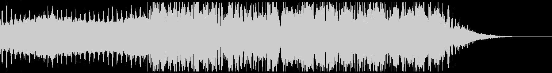 疾走感のあるエレクトロの未再生の波形