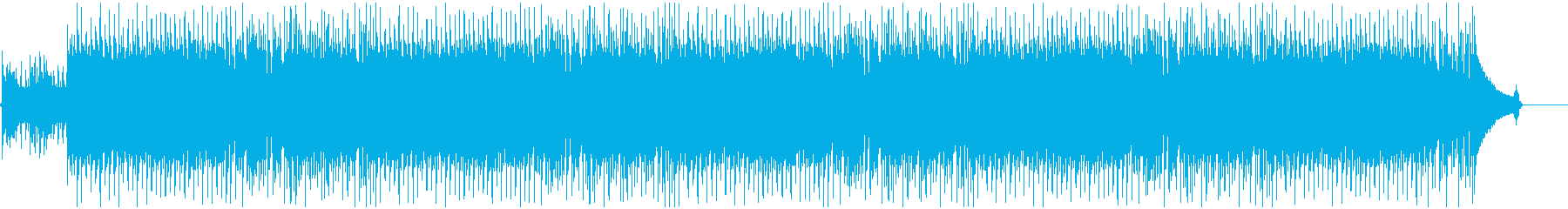 爽やかギターロックなBGMの再生済みの波形