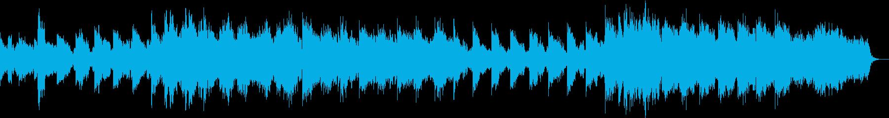 企業VPや映像に感動 前向きストリングスの再生済みの波形