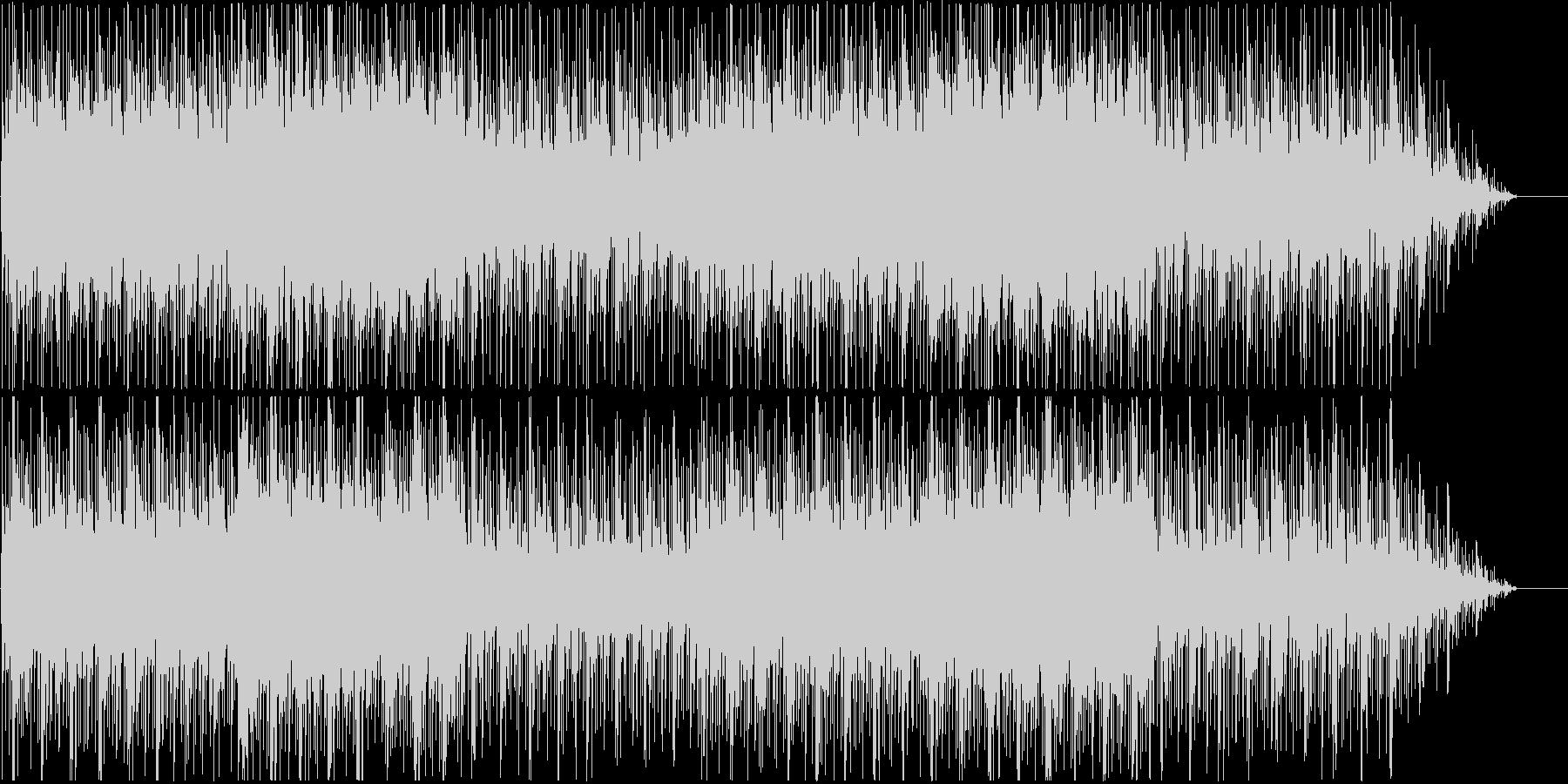 ノスタルジックで幻想的なBGMの未再生の波形