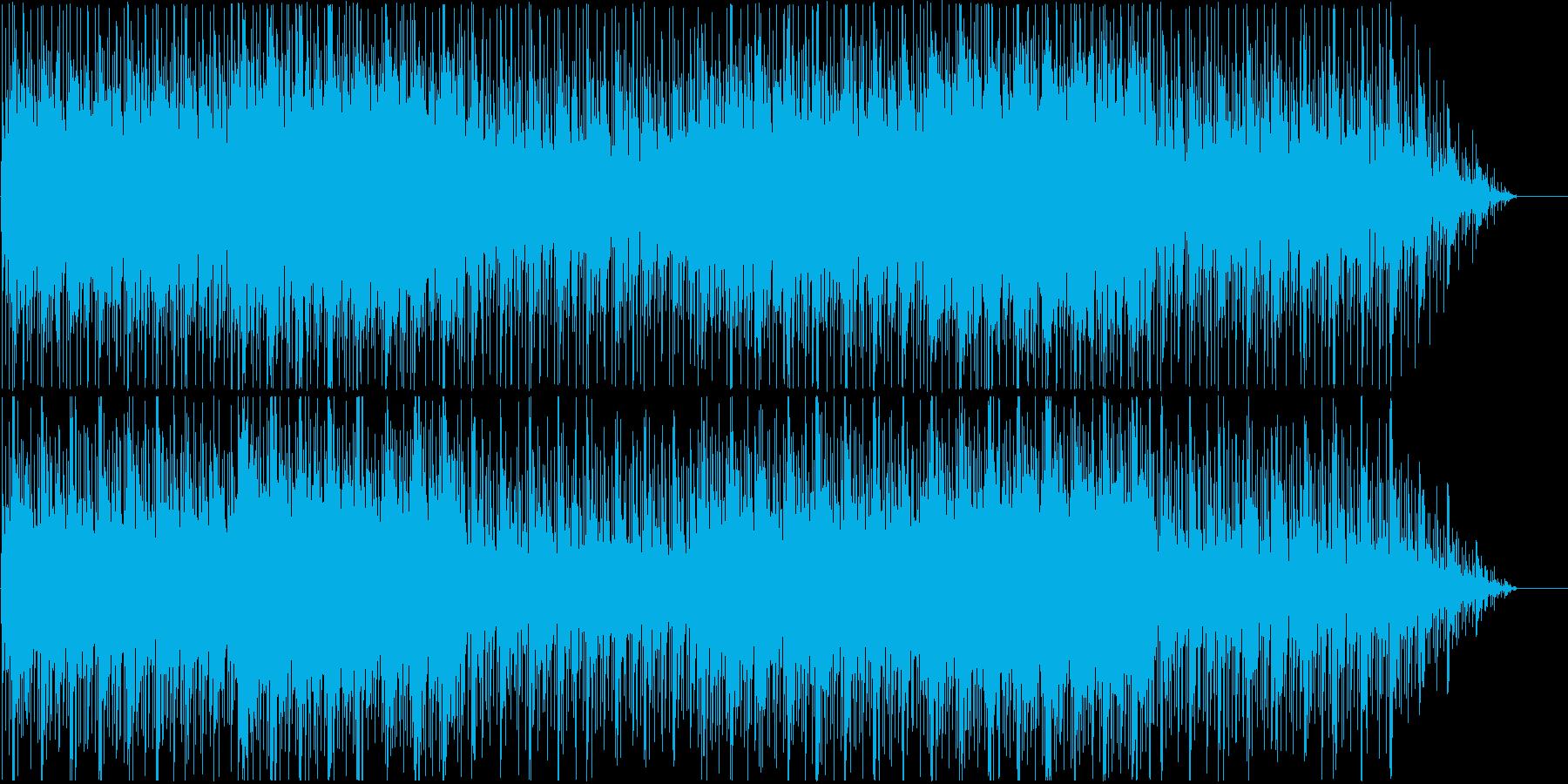 ノスタルジックで幻想的なBGMの再生済みの波形