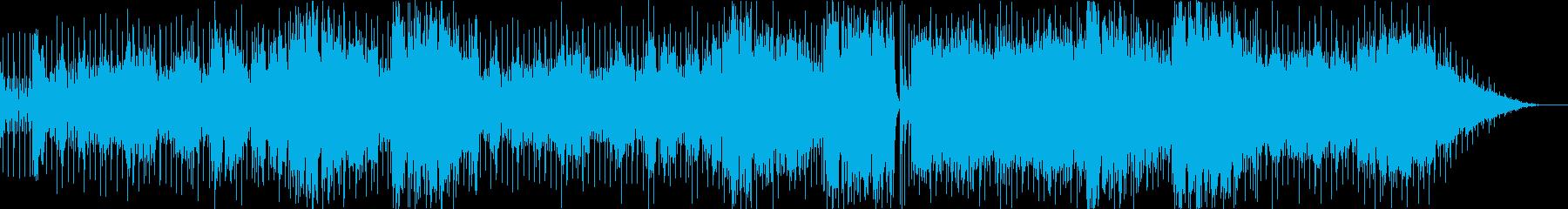 ドリアンコードを使ったエモーショナルな曲の再生済みの波形