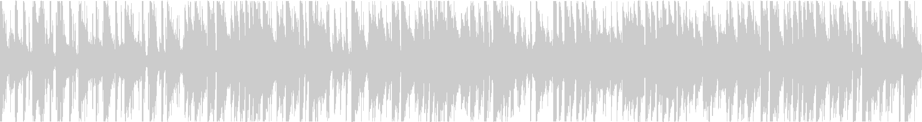 生演奏のクールなピアノ・トリオジャズの未再生の波形