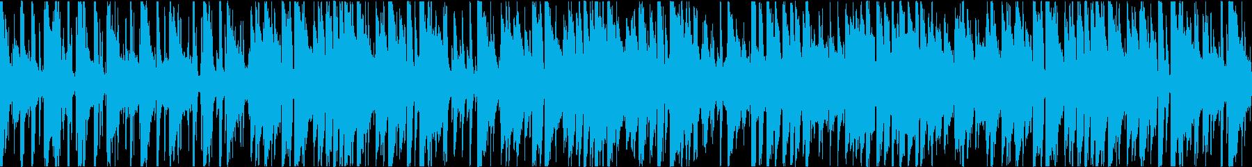 生演奏のクールなピアノ・トリオジャズの再生済みの波形