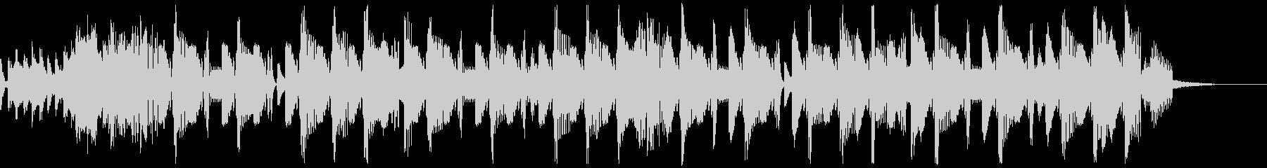 G-Houseジングル1の未再生の波形