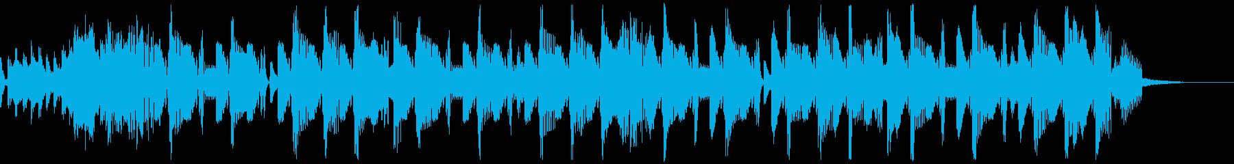 G-Houseジングル1の再生済みの波形