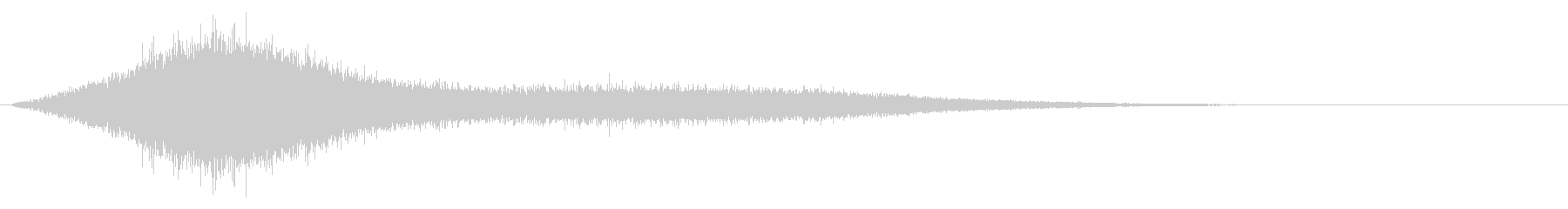 Sounds of chanting and activating magic #3's unreproduced waveform