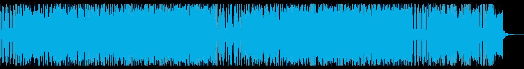 クールで軽快なチップチューンの再生済みの波形
