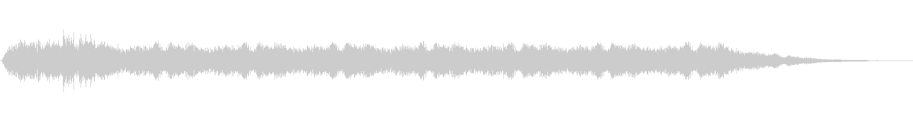「グェェェ」不気味な効果音の未再生の波形